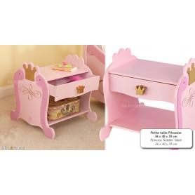 Petite table Princesse