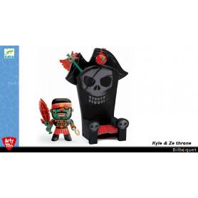 Kyle & the throne - Arty Toys pirates