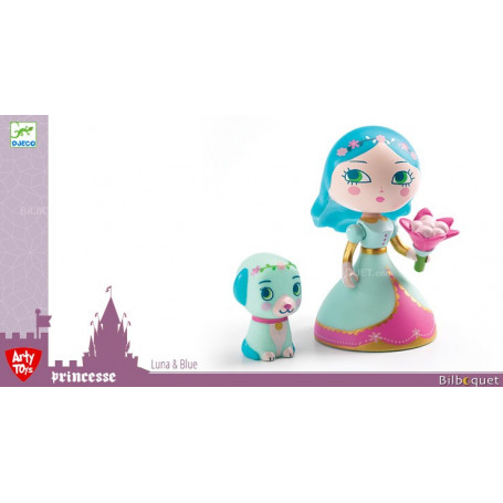 Djeco Arty Jouets Princess Aby /& bleu collection action figure
