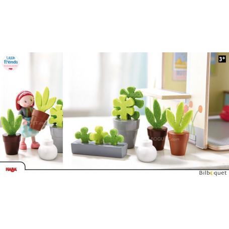 Fleurs et plantes - Accessoires pour maison de poupée Little Friends