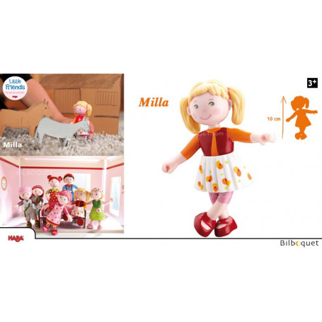Poupée Milla la marrante - Little Friends