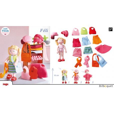Poupée Féli avec vêtements et accessoires - Little Friends