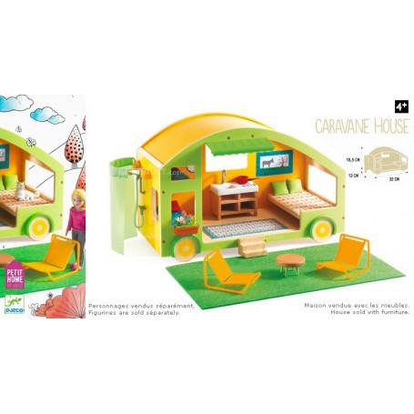 Caravane House - Maison de poupées en bois Petit Home by Djeco