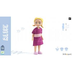 Alice Poupée articulée - Petit Home by Djeco