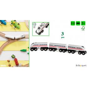 Train TGV avec son