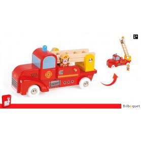Camion de pompiers Story - Véhicule en bois