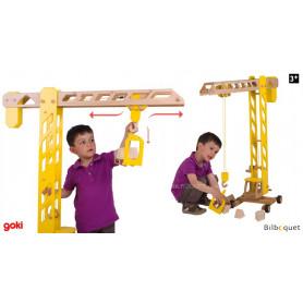 La grande grue de chantier