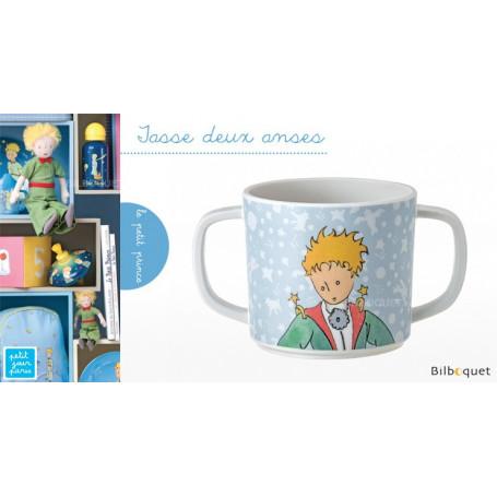 Tasse 2 anses Le Petit Prince BLEU