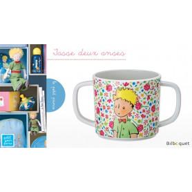 Tasse 2 anses Le Petit Prince ROSE