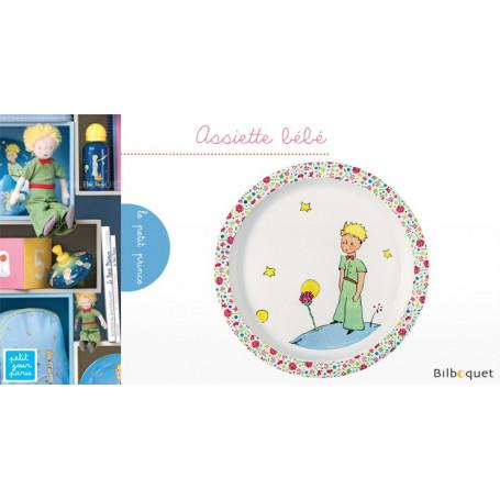 Assiette bébé Le Petit Prince ROSE Ø21cm