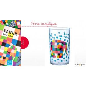 Verre acrylique Elmer l'éléphant