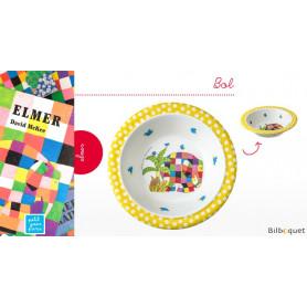 Bol Elmer l'éléphant - Vaisselle enfant