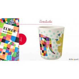 Timbale Elmer l'éléphant - Vaisselle pour les enfants