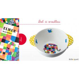 Bol à oreilles Elmer l'éléphant - Vaisselle enfant