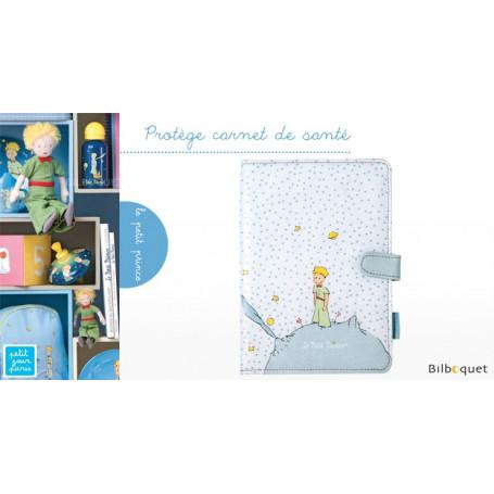 Protège carnet de santé bleu - Le Petit Prince