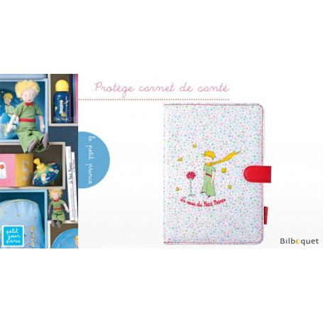 Protège carnet de santé rose - Le Petit Prince