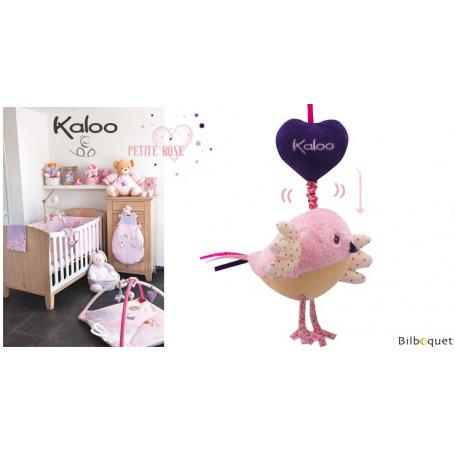 Oiseau musical - Kaloo Petite Rose
