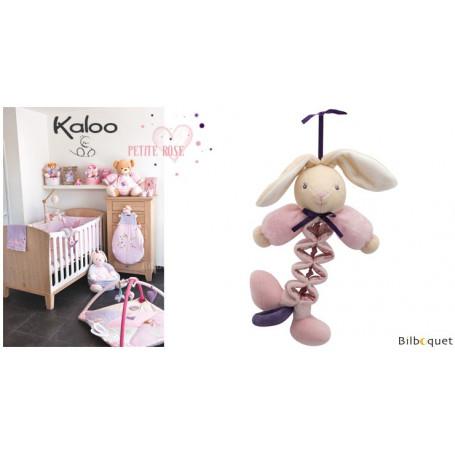 Mini Zig musical - Lapin - Kaloo Petite Rose