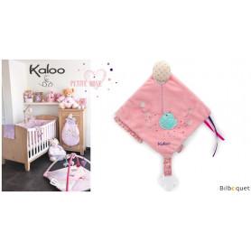 Doudou d'activités avec accroche tétine - Kaloo Petite Rose