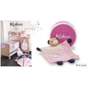 Doudou ours marionnette - Joli - Kaloo Petite Rose