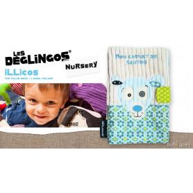 Protège carnet de santé Illicos l'ours polaire - Déglingos Nursery
