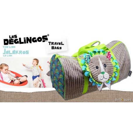 Sac de voyage Jélékros le lion - Déglingos Travel Bags