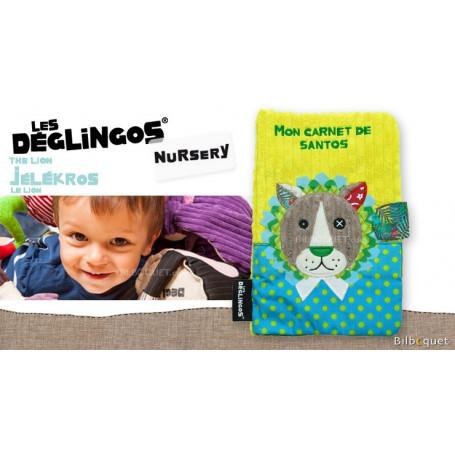 Protège carnet de santé Jélékros le lion - Déglingos Nursery