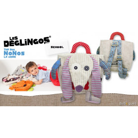 Sac à dos Nonos le chien - Déglingos School