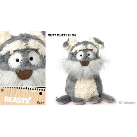 Mutt Mutty (peluche chien de terrier 23cm) - Sigikid Beasts