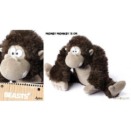 Money Monkey (peluche singe 35cm) - Sigikid Beasts