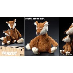 Fox Ach Goood! Small (peluche renard 22cm) - Sigikid Beasts