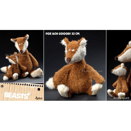 Fox Ach Goood! Small (peluche renard 22cm) - Sigikid Beasts