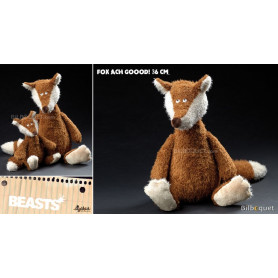 Fox Ach Goood! (peluche renard 36cm) - Sigikid Beasts