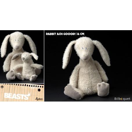 Rabbit Ach Goood! (peluche lapin 36cm) - Sigikid Beasts