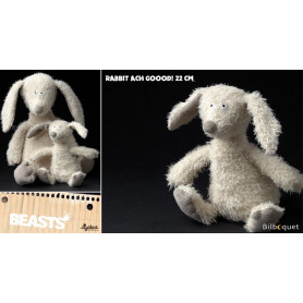 Rabbit Ach Goood! Small (peluche lapin 22cm) - Sigikid Beasts