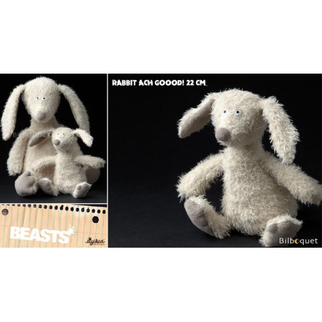 Rabbit Ach Goood! Small (peluche lapin 22cm) - Sigikid Beasts