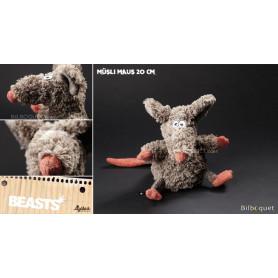 Müsli Maus (peluche souris 20cm) - Sigikid Beasts
