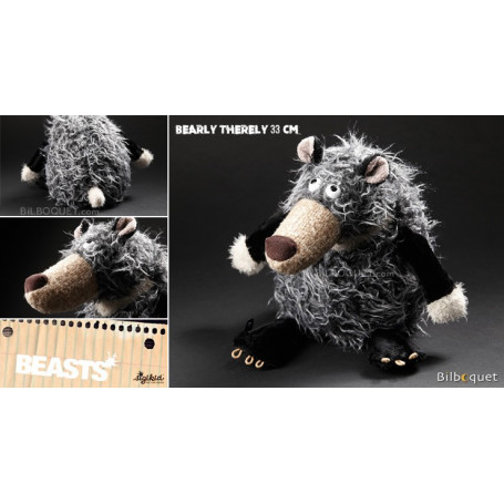 Bearly Therely (peluche ours 33cm) - Sigikid Beasts
