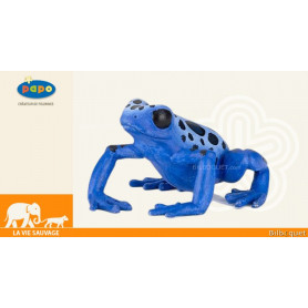 Grenouille équatoriale bleue - Figurine jouet