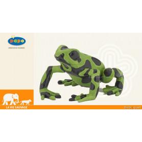 Grenouille équatoriale verte - Figurine jouet