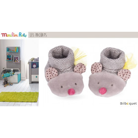 Chaussons Chat pour bébé 0-6 mois Les Pachats