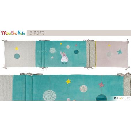 Tour de lit de bébé 190x42cm - Les Pachats