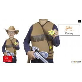 Gilet de cowboy 5/8ans - Déguisement enfant