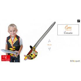 Épée en mousse Corsaire - Accessoire enfant