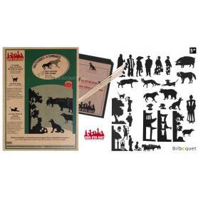 Les contes des loups - 31 silhouettes pour théâtre d'ombres