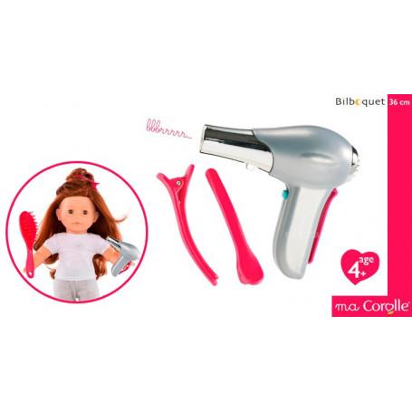Sèche Cheveux (Coffret Brushing) pour Poupée Ma Corolle