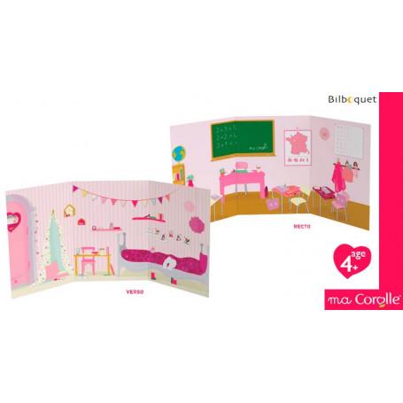 Décor de Jeux - Maison & Ecole pour poupée Ma Corolle