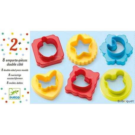 8 emporte-pièces pour pâte à modeler