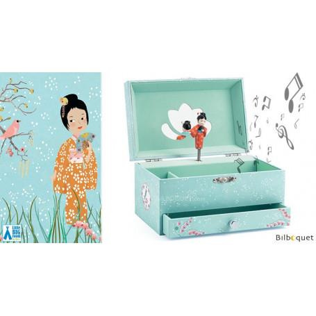 Boîte à bijoux musicale La mélodie d'Aiko