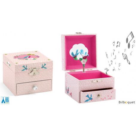Boîte à bijoux musicale La mélodie du pinson